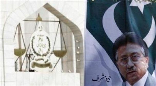 Мушарраф перемагає на виборах у Пакистані