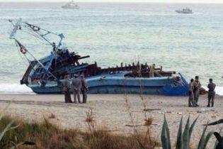 В Середземному морі затонуло судно з нелегалами