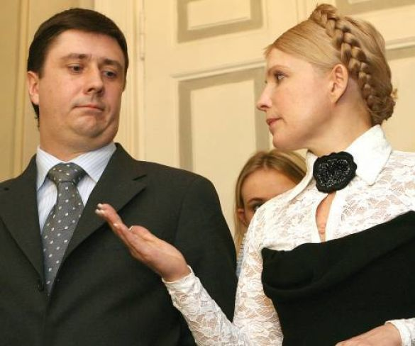 Юлія Тимошенко та В'ячеслав Кириленко