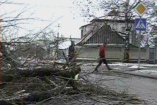 Негода знеструмила 433 українських села