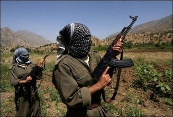 Бойовики РПК в Іраку патрюлюють прикордонну з Туреччиною зону