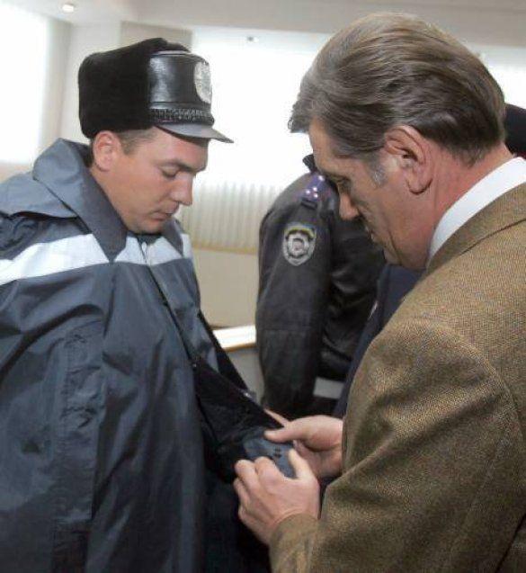 Ющенко й ДАІшник