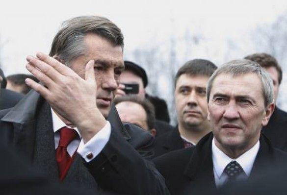 Віктор Ющенко та Леонід Черновецький