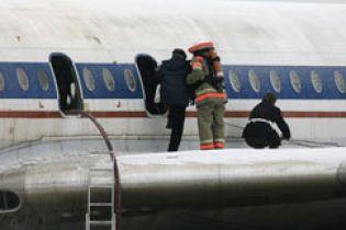В Росії Ту-134 здійснив аварійну посадку