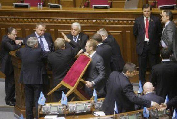 Блокування президіуму Верховної ради