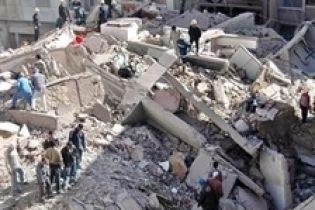 В Одессе обвалился дом (видео)