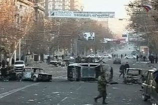 В Ереване проходит массовый митинг
