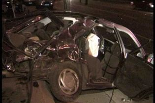 ДТП в Днепропетровске: погибло 3 человека