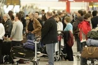 В британских аэропортах произошел сбой