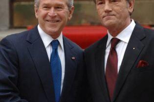 Буш пригласил Ющенко на личный разговор (видео)