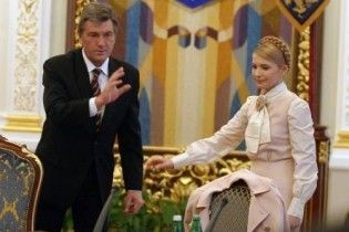 Ющенко вимагає від Тимошенко піти з політики