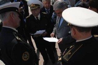 Українські ДАІшники близько доби утримували 30 моряків ЧФ