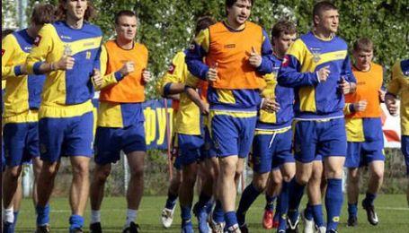 Українці зіграють зі шведами без Тимощука
