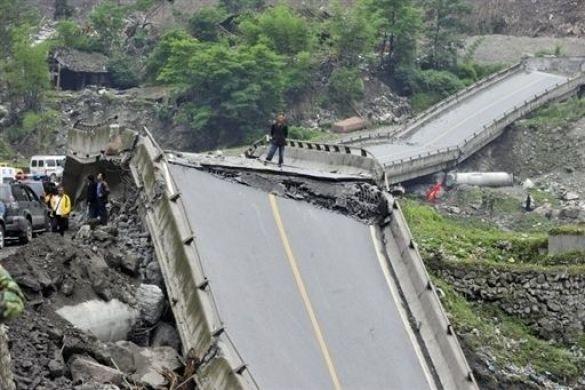 Після землетрусу у Китаї