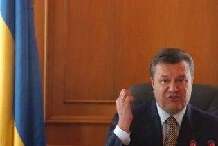 Янукович: через трубу Україна знову в лайні