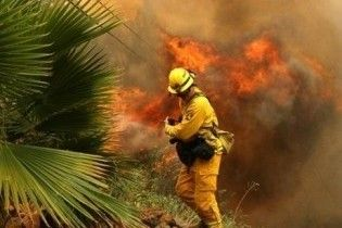Лос-Анджелесу загрожують лісові пожежі. Телеканали можуть втратити зв'язок