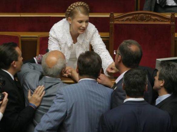 Юлія Тимошенко ту ВР