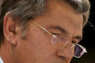 Ющенко отбыл в Винницкую область (видео)