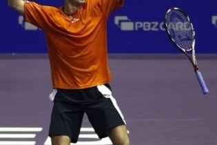 Украинские теннисисты побеждают (видео)