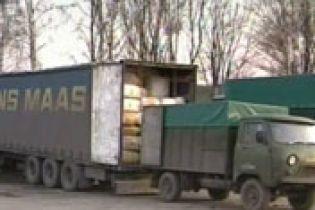 В Киеве задержали контрабанду на 68 млн. гривен (видео)