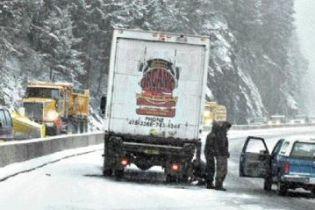 Над США бушує снігова буря