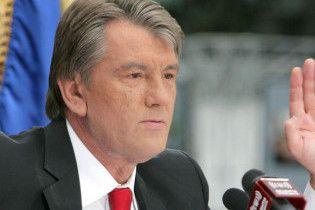 Ющенко передумав йти в сенатори