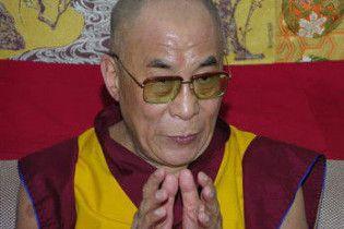 Далай-лама прибув на Тайвань помолитися за жертв тайфуну