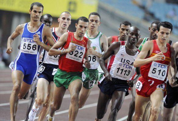 Біг 1500 м