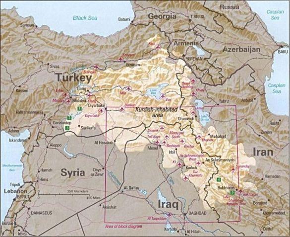 Курдомовні регіони