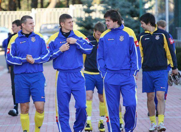 Збірна України на тренуванні