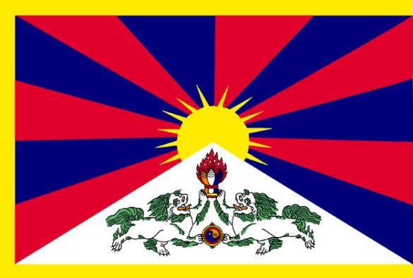 Прапор Тибету