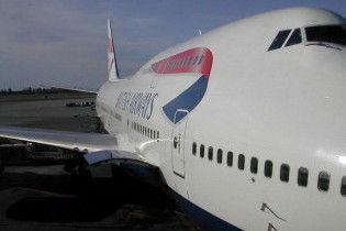 Літак British Airways з палаючим двигуном аварійно сів у Нігерії