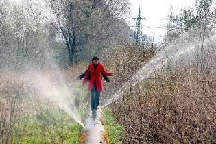 На Одещині прорвало магістральний водогін