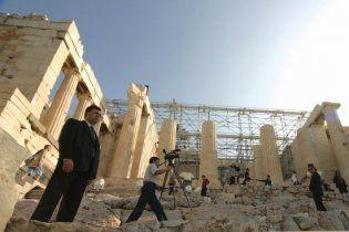 Грецька поліція розігнала працівників мінкультури, які заблокували Акрополь