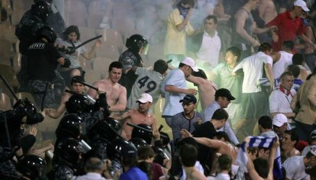 Бійка на стадіоні
