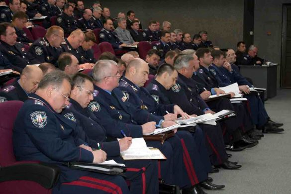 Нарада Міністерства внутрішніх справ (Фото: mvsinfo.gov.ua)