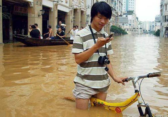 Повінь у Китаї