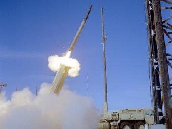 Запуск ракети ПРО