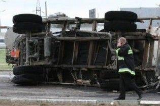 В Винницкой области в реку попало семь тонн аммиака