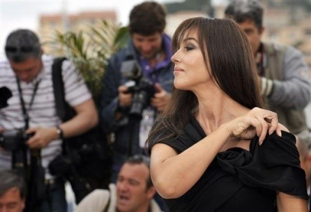 Беременная Моника Белуччи снялась для Vanity Fair