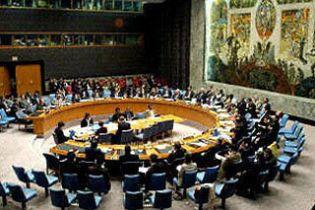 Рада безпеки ООН ухвалила заяву щодо ситуації на Близькому Сході