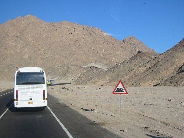 Автобус, Єгипет (Фото: konst.org.ua)