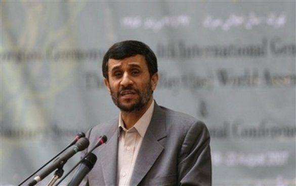 Махмуд Ахмадінеджад, президент Ірану
