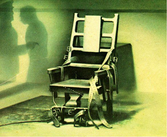 Електричний стілець (Фото: gangsorus.com)