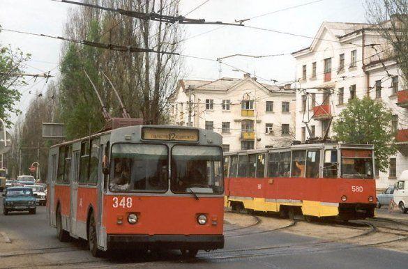 Тролейбус і трамвай (Фото: transport.kuban.info)