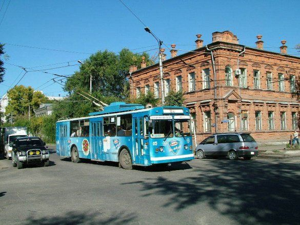 Тролейбус (Фото: ymtram.mashke.org)
