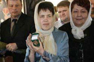 Жену Януковича наградили орденом великомученицы