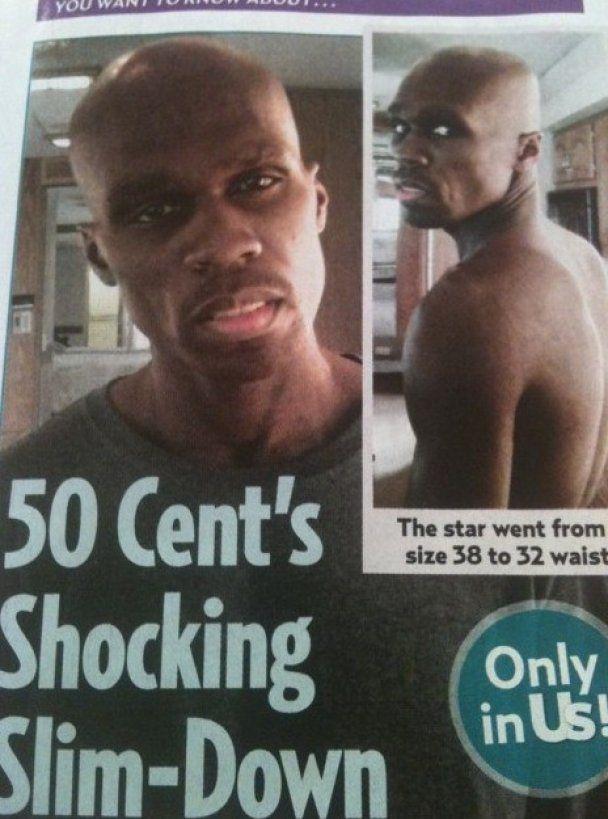 Заради кіно 50 Cent схуд на 25 кг
