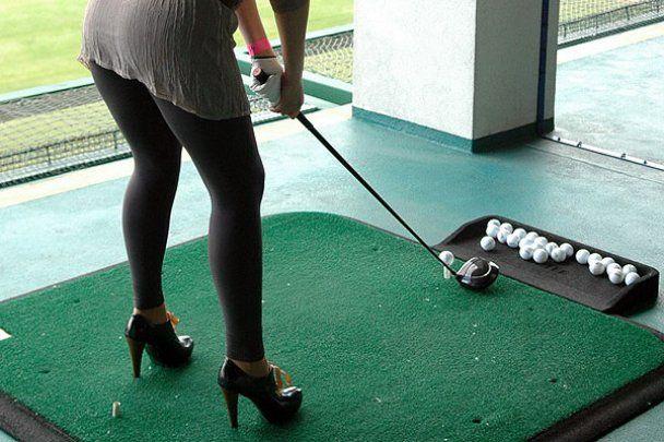 Зірки зіграли у гольф на шпильках