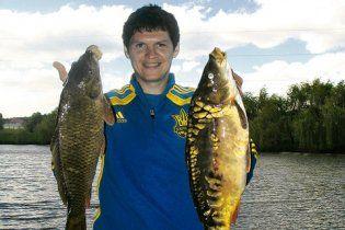 Маркевич зводив збірну України на рибалку